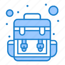 bag, camp, traveling icon
