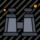 binocular, explore, spyglass icon