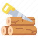 cut, saw, sawing, tool