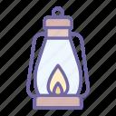 light, lantern, gas, lamp, fire
