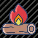 fire, camp