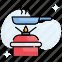 burner, cooking, food, oven, range, stove
