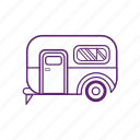 camping, car, van, vehicle icon