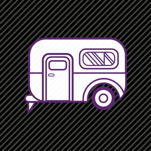 camping, car, van, vehicle icon