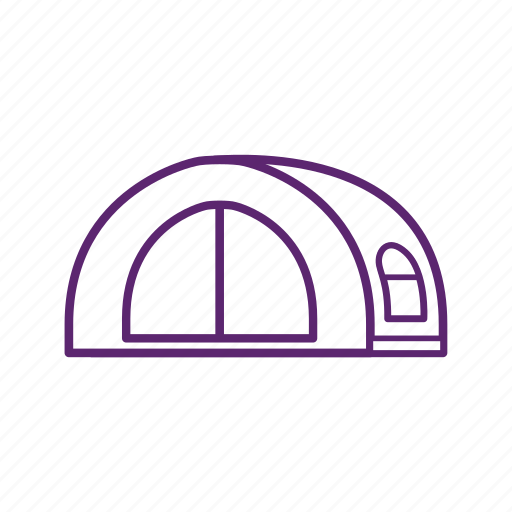 camp, camping, sleep, tent icon