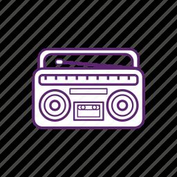 camping, entertainment, music, radio icon