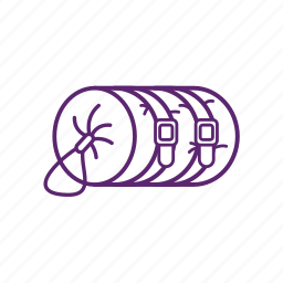 bag, camp, camping, tent icon