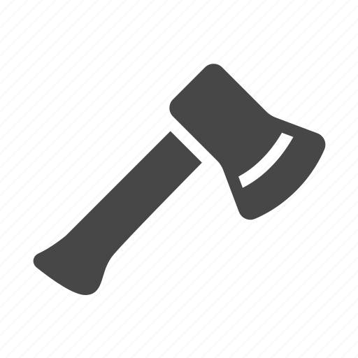 ax, axe, camping, cleaver icon