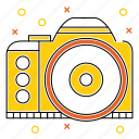 adventure, camera, camping, device, equipment, multimedia icon