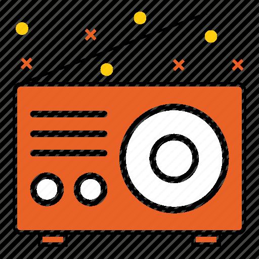 antenna, camping, communication, device, radio, signal, tool icon