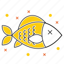 fish, fishing, food, sea, seafood icon