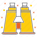 adventure, binocular, camping, glass, telescope, tool, zoom icon