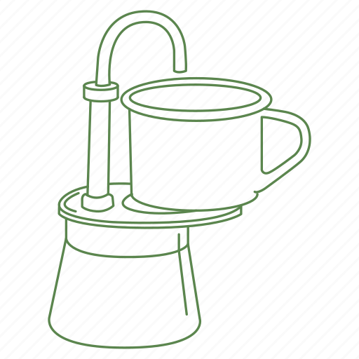 camp, camp fire, camping, coffee, drink, fire, percolate icon