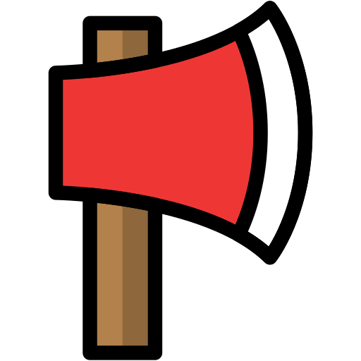 axe, camp, camping, outdoor, travel icon