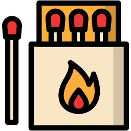 camp, camping, match, outdoor, travel icon