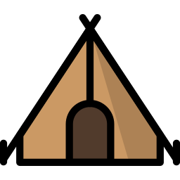 adventure, camp, camping, outdoor, tent, travel icon