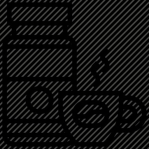 Chocolate, coffee, drink, hot, mug, tea icon - Download on Iconfinder