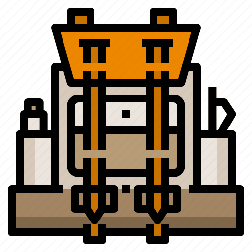 adventure, backpack, backpacker, bag, travel icon