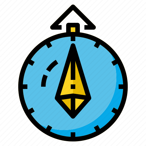 Compass, direction, map, north, travel icon - Download on Iconfinder
