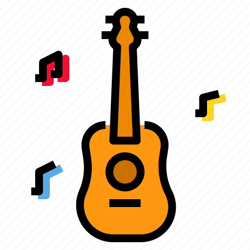 guitar, instrument, music, musical, sound icon