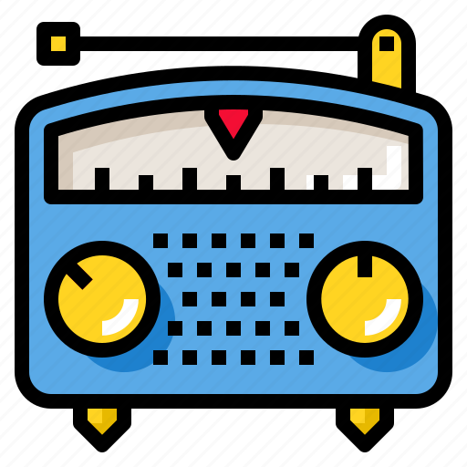 broadcast, media, music, radio, sound icon