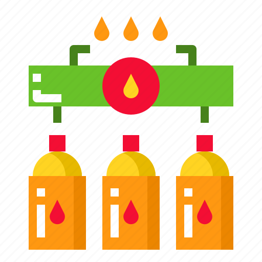 Cook, stove, cooking, gas, kitchen icon