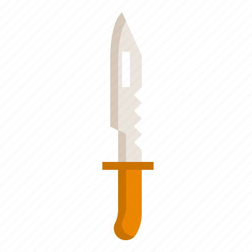 blade, cleaver, cut, knife, steel icon