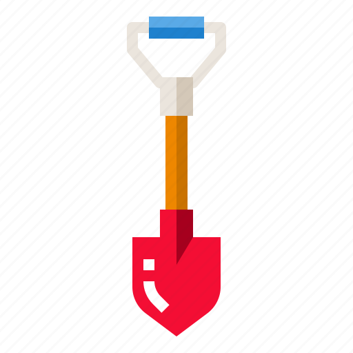 agriculture, farm, gardening, shovel, tool icon