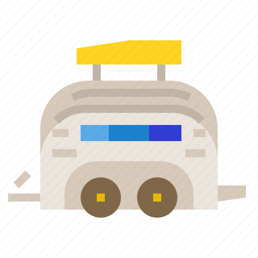 Cargo, truck, trailer, transport, vehicle icon