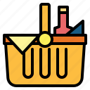 basket, camping, picnic icon