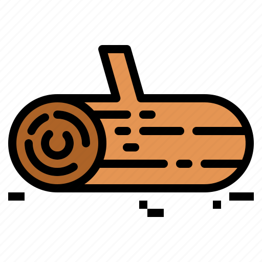 Wooden, wood, log icon