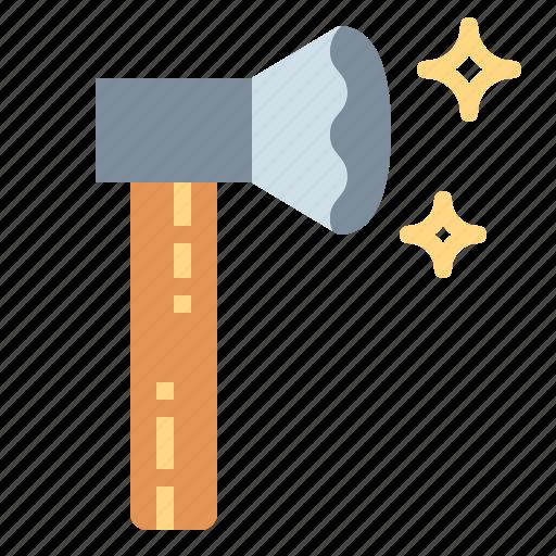 axe, miscellaneous, weapon icon