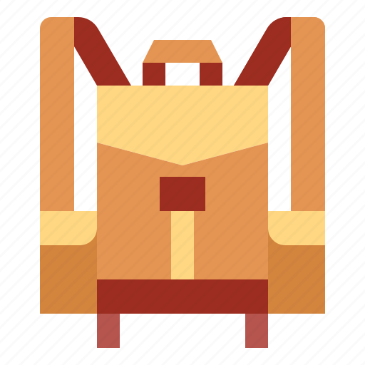 backpack, baggage, travel icon