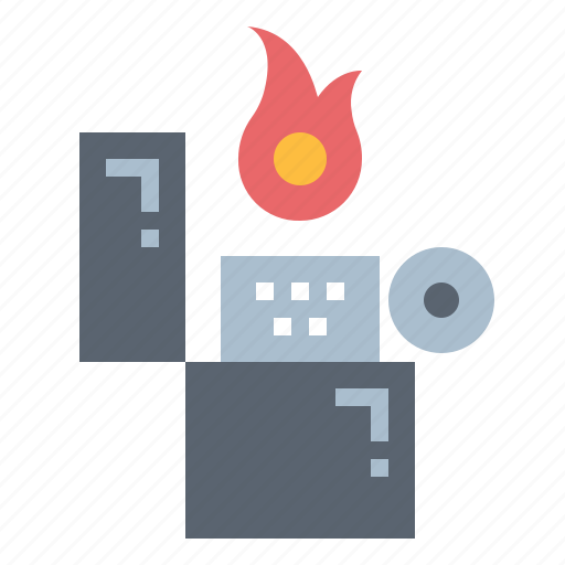 Fire, lighter, zippo icon - Download on Iconfinder