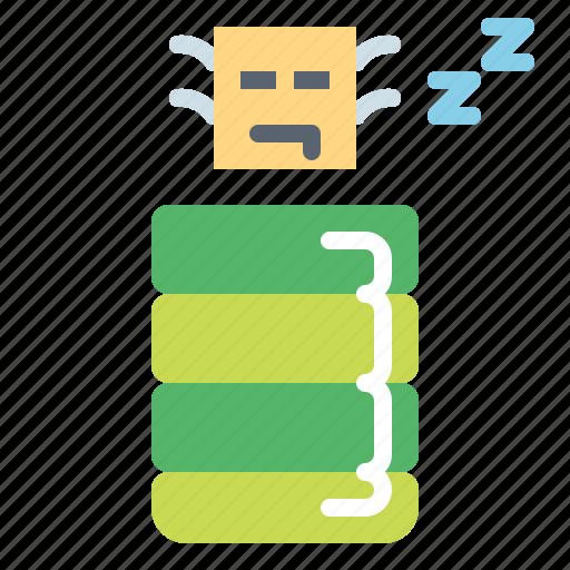 bag, camping, sleeping, travel icon