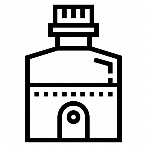 bottle, canteen, thirst, water icon