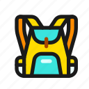 backpack, bag, school, backpacking, travel, baggage, luggage