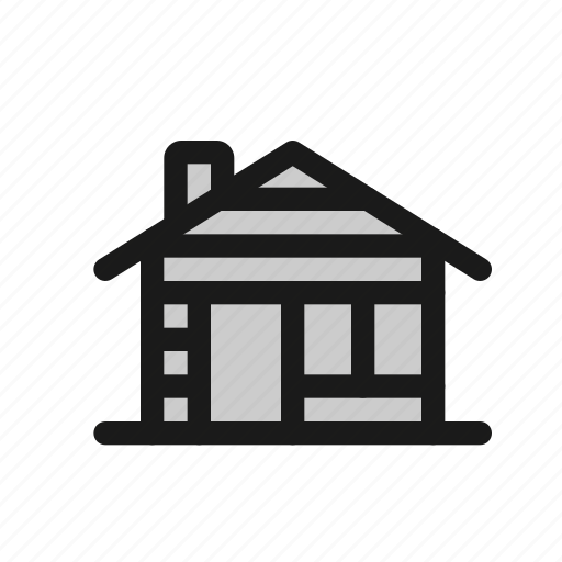 Cabin, wood, house, lumberjack, home, building icon - Download on Iconfinder