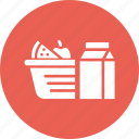 camping, food, groceries, outdoors, picnic, vacation icon