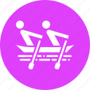 boating, camping, outdoor, paddle, recreation, rowing, water icon