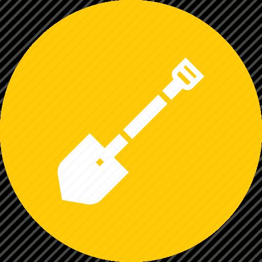 construction, dig, garden, gardening, shovel, tool icon