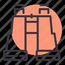 binocular, binoculars, device, explore, spyglass, zoom icon