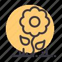 ecology, environment, flower, garden, leaf, nature, sunflower icon