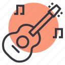 concert, guitar, instrument, music, musical, party, play icon