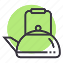 camping, drink, kettle, outdoor, tea, teapot, utensil icon