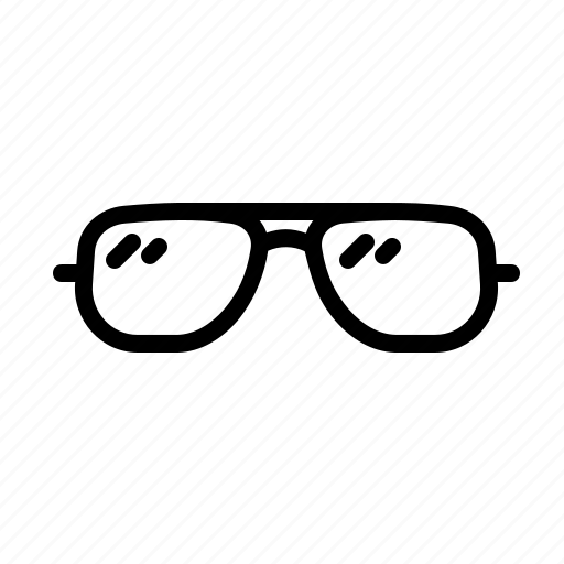 accessory, coolers, eyecare, eyeglasses, opticals, shades, spectacles icon