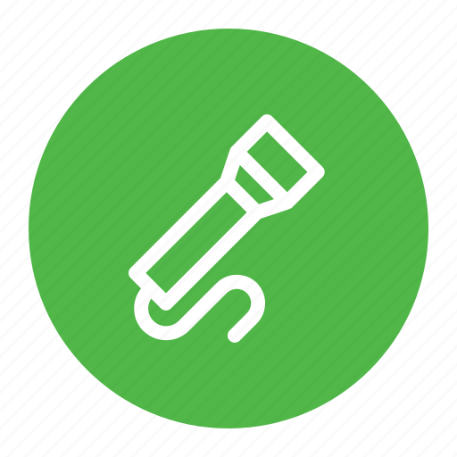 flash, flashlight, light, tool, torch icon