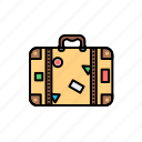 bag, camp, luggage, tour, travel icon