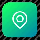 find, location, marker, navigation, pin
