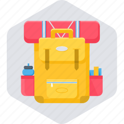 bag, baggage, holiday, luggage, suitcase, vacation icon